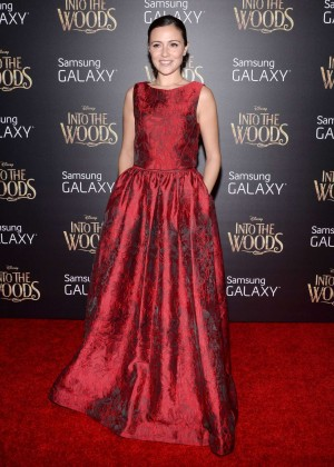 Italia Ricci: Into the Woods NY Premiere -10