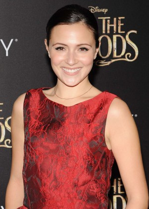 Italia Ricci: Into the Woods NY Premiere -11