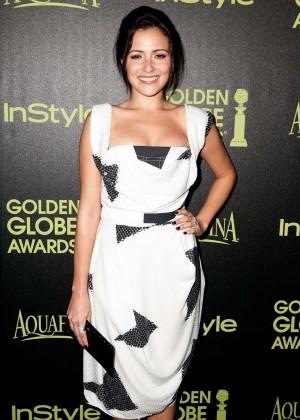 Italia Ricci - HFPA & InStyle Celebrate 2015 Golden Globe Award Season in West Hollywood