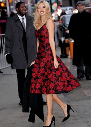 Ivanka Trump at Good Morning America in New York City