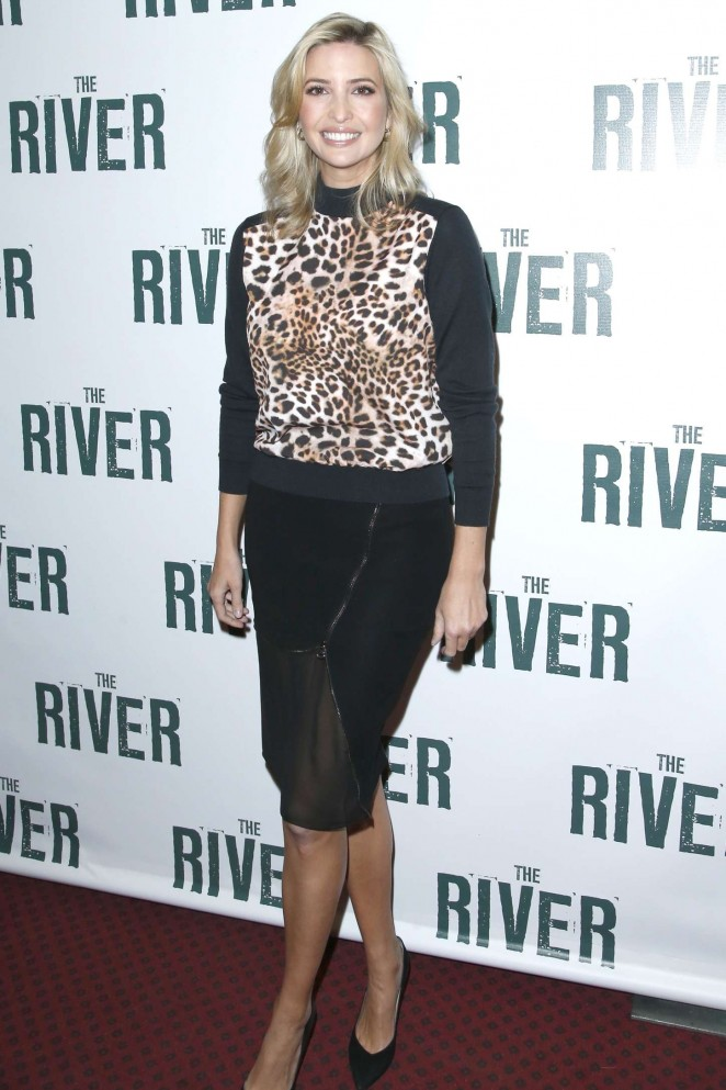 Ivanka Trump - Performance of 'The River' in Broadway, NYC