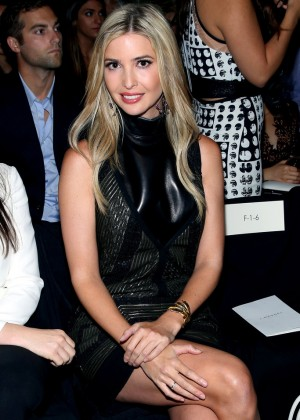 Ivanka Trump - J. Mendel Fashion Show in NYC