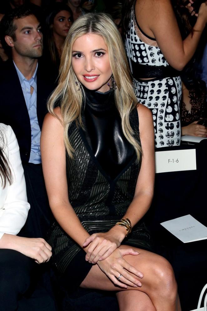 Ivanka Trump - J. Mendel Fashion Show in NYC
