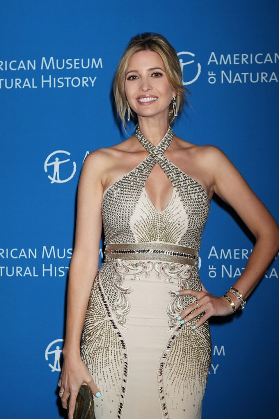 Ivanka Trump - Museum of Natural History Spring Dance in NY -07