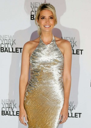 Ivanka Trump - NYC Ballet 2014 Fall Gala at Lincoln Center