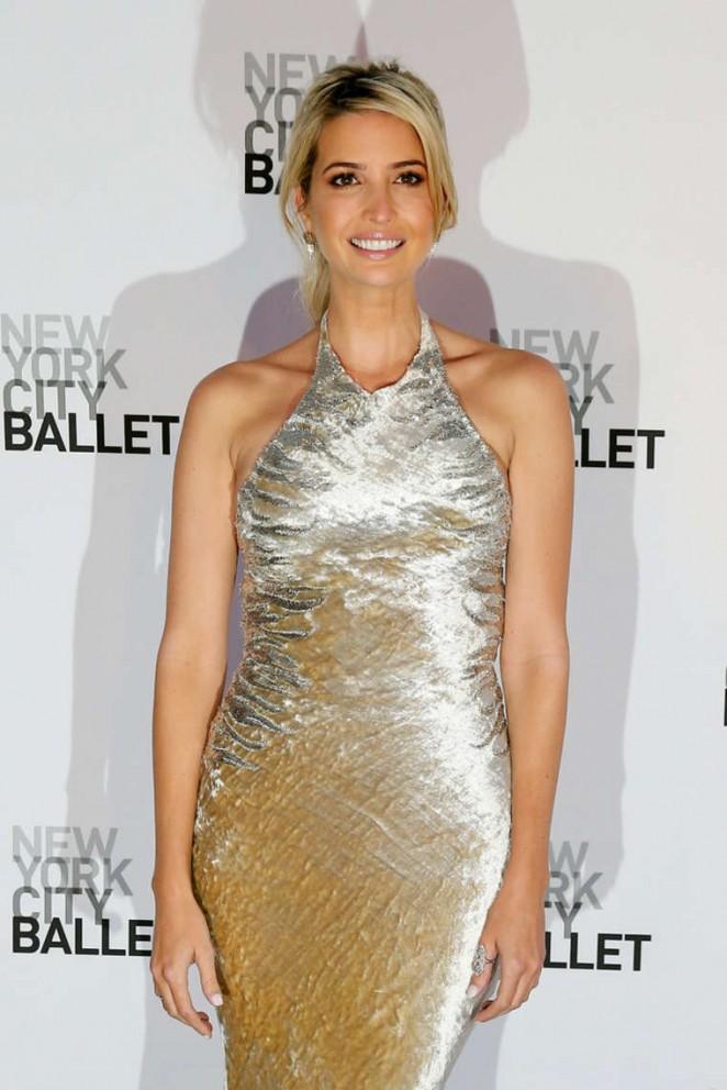 Ivanka Trump - NYC Ballet 2014 Fall Gala at Lincoln Center