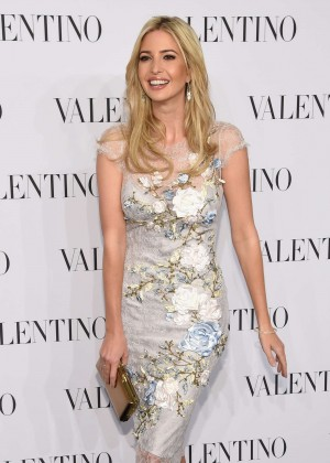 Ivanka Trump - Valentino Sala Bianca 945 Event in NYC