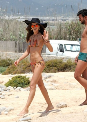 Izabel Goulart Bikini Photos: 2014 in Ibiza -04