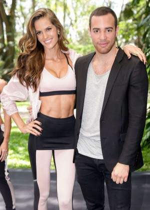 "Izabel Goulart - Launches the New ""Nike x Pedro Lourenco"" Collection in Sao Paulo"