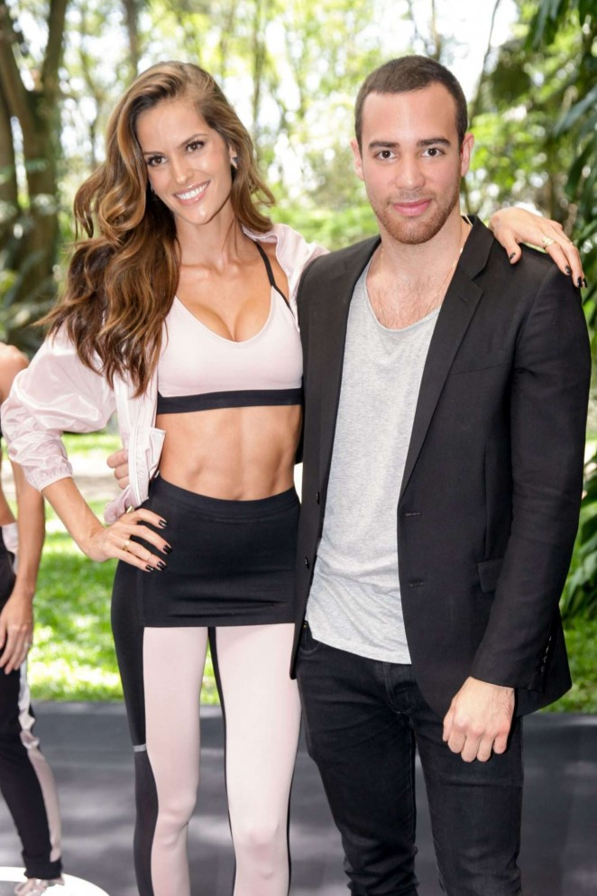 """Izabel Goulart – Launches the New """"Nike x Pedro Lourenco"""" Collection in Sao Paulo"""