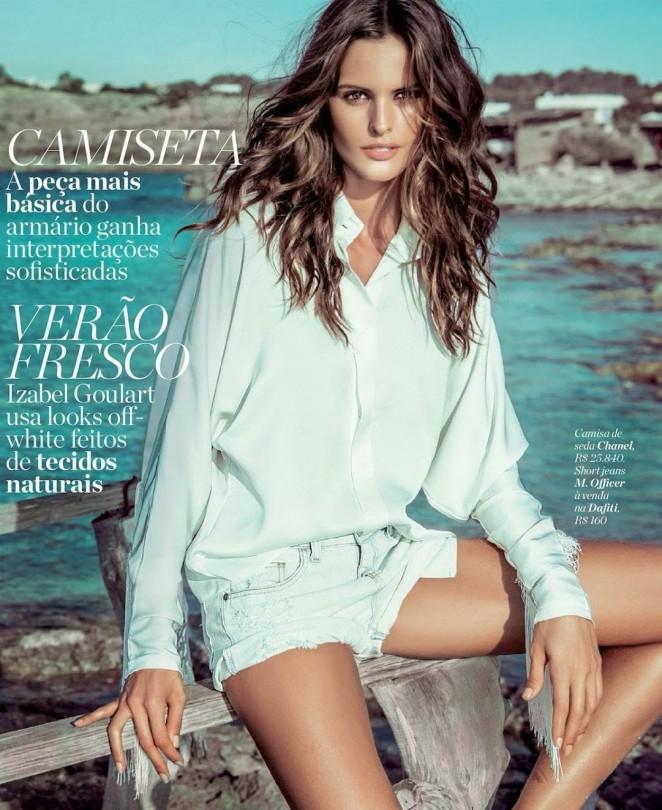 Izabel Goulart: Marie Claire Brazil 2014 -03