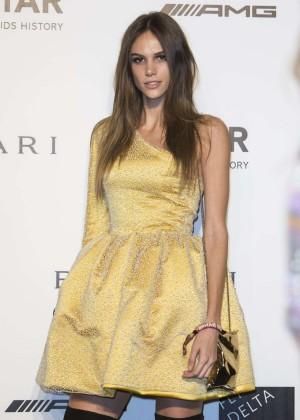 Izabel Goulart - Milan Fashion Week amfAR Gala in Italy