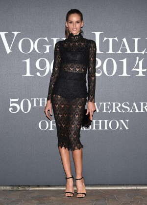 Izabel Goulart - Vogue Italia 50th Anniversary at Piazza Castello in Italy