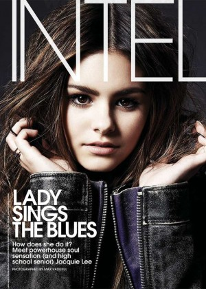 Jacquie Lee - Elle Magazine Cover (November 2014)