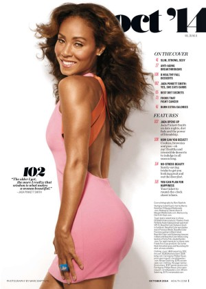 Jada Pinkett Smith - Health USA Magazine (October 2014)