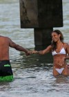 Jada Pinkett Smith in a white bikini in Hawaii -09