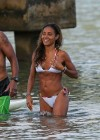Jada Pinkett Smith in a white bikini in Hawaii -16
