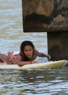 Jada Pinkett Smith in a white bikini in Hawaii -18