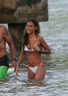 Jada Pinkett Smith in a white bikini in Hawaii -19