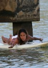 Jada Pinkett Smith in a white bikini in Hawaii -26