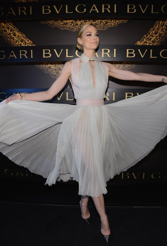 Jaime King – 2013 Bulgari Celebrates Icons Of Style The Serpenti in NY -01