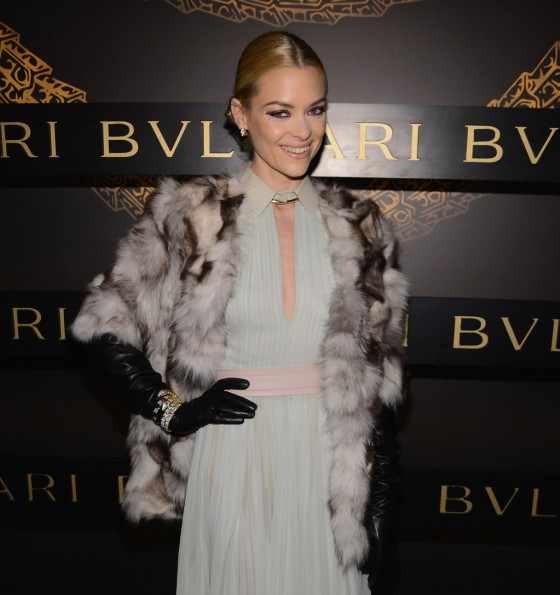 Jaime King – 2013 Bulgari Celebrates Icons Of Style The Serpenti in NY -03
