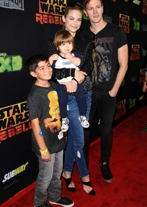 "Jaime King - ""Star Wars Rebels"" Premiere in Century City"