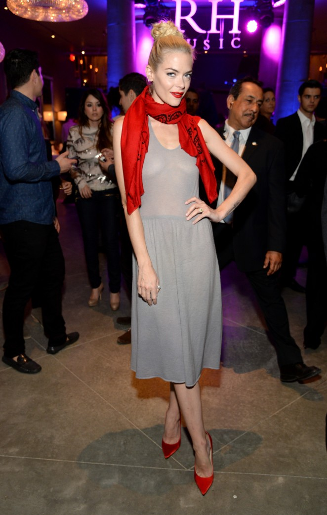 Jaime King - Restoration Hardware Gallery Opening in Hollywood
