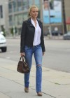 Jaime Pressly In Jeans at King's Road Cafe