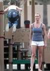 Jaime Pressly having fun in park-08