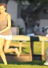Jaime Pressly having fun in park-10