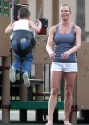 Jaime Pressly having fun in park-12