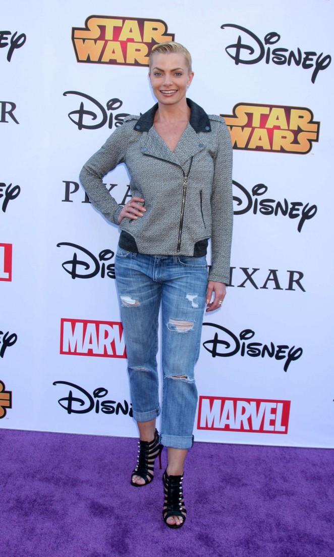 Jaime Pressly - Disney's VIP Halloween Event in Glendale