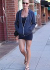 Jaime Pressly Showing Leggs in shorts in Los Angeles-06