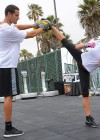 Jaime Pressly - Muscle Milk Fitness Retreat Venice Beach-05