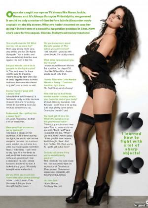 Jaimie Alexander Maxim Australia Magazine March 2014