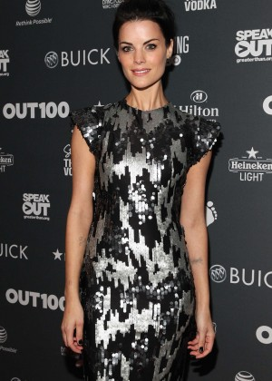 Jaimie Alexander - Out100 2014 in New York