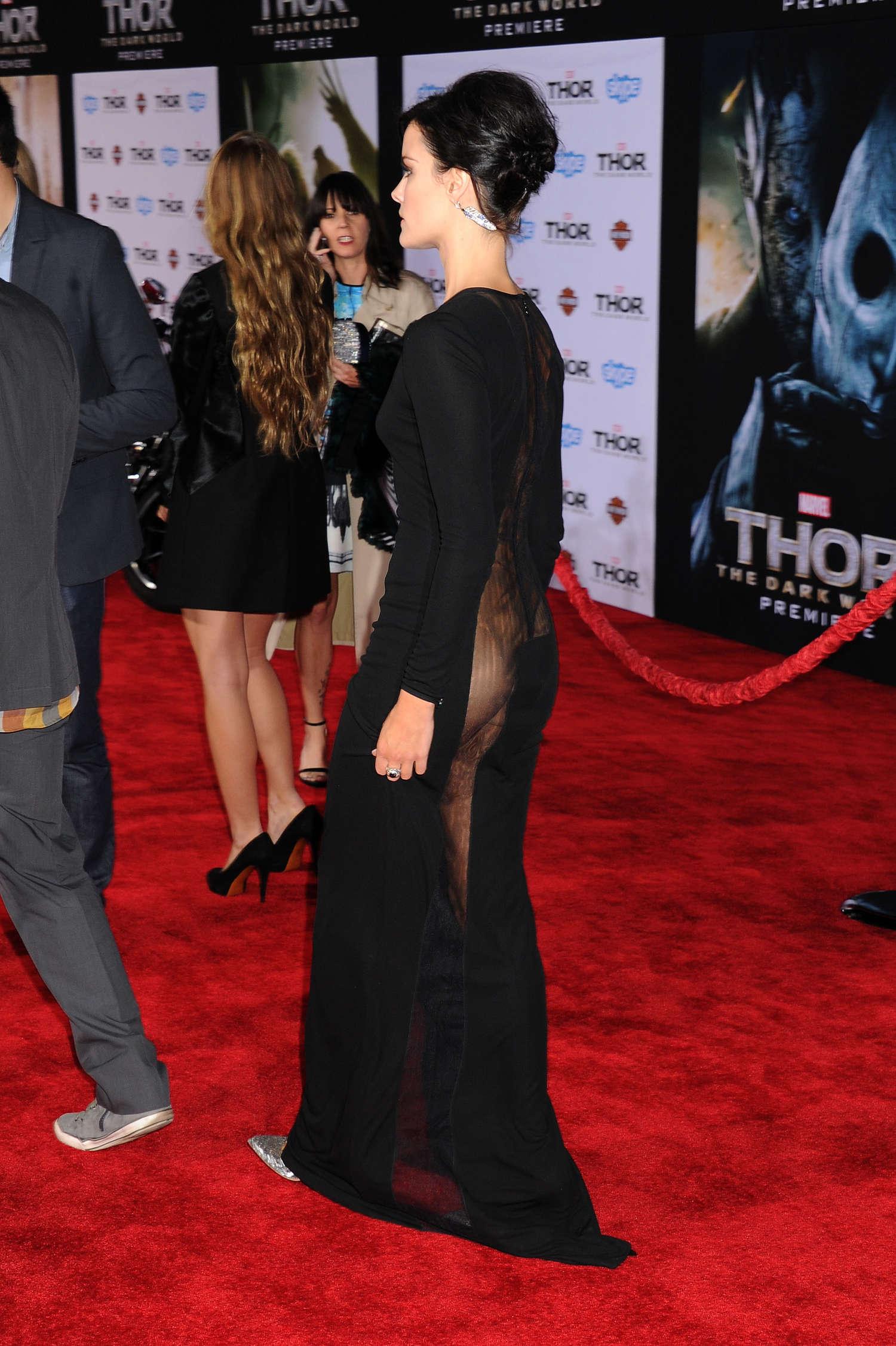 Jaimie Alexander Thor The Dark World Hollywood Premiere