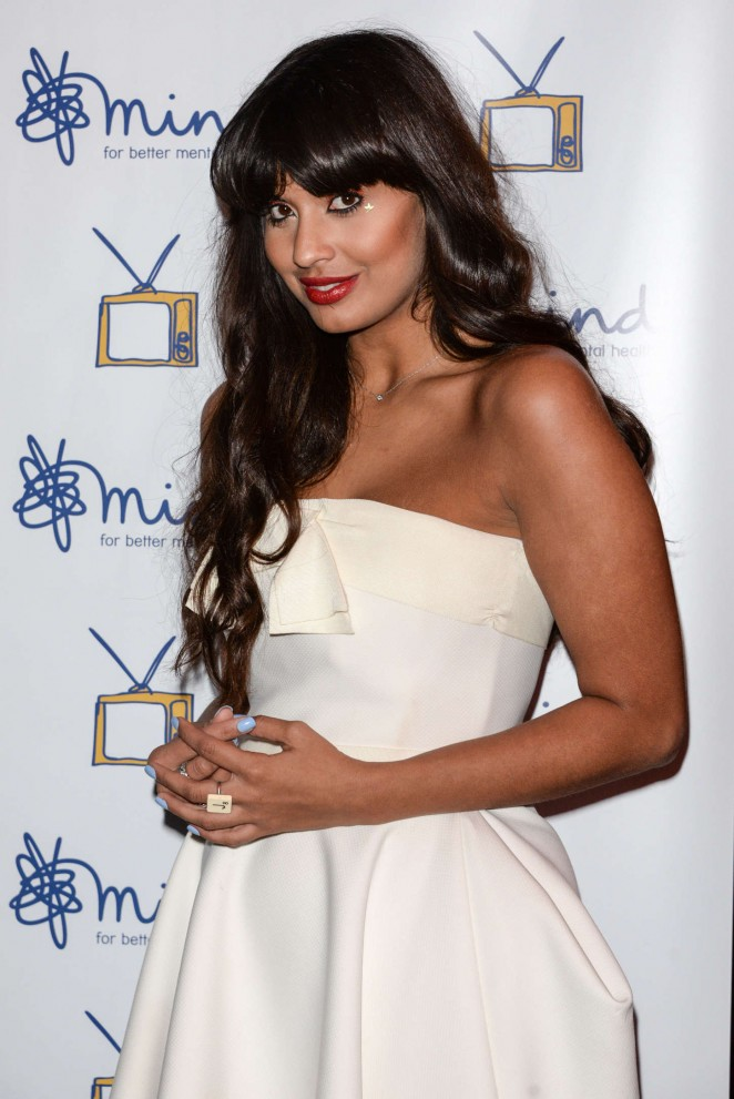 Jameela Jamil - Mind Media Awards 2014 in London