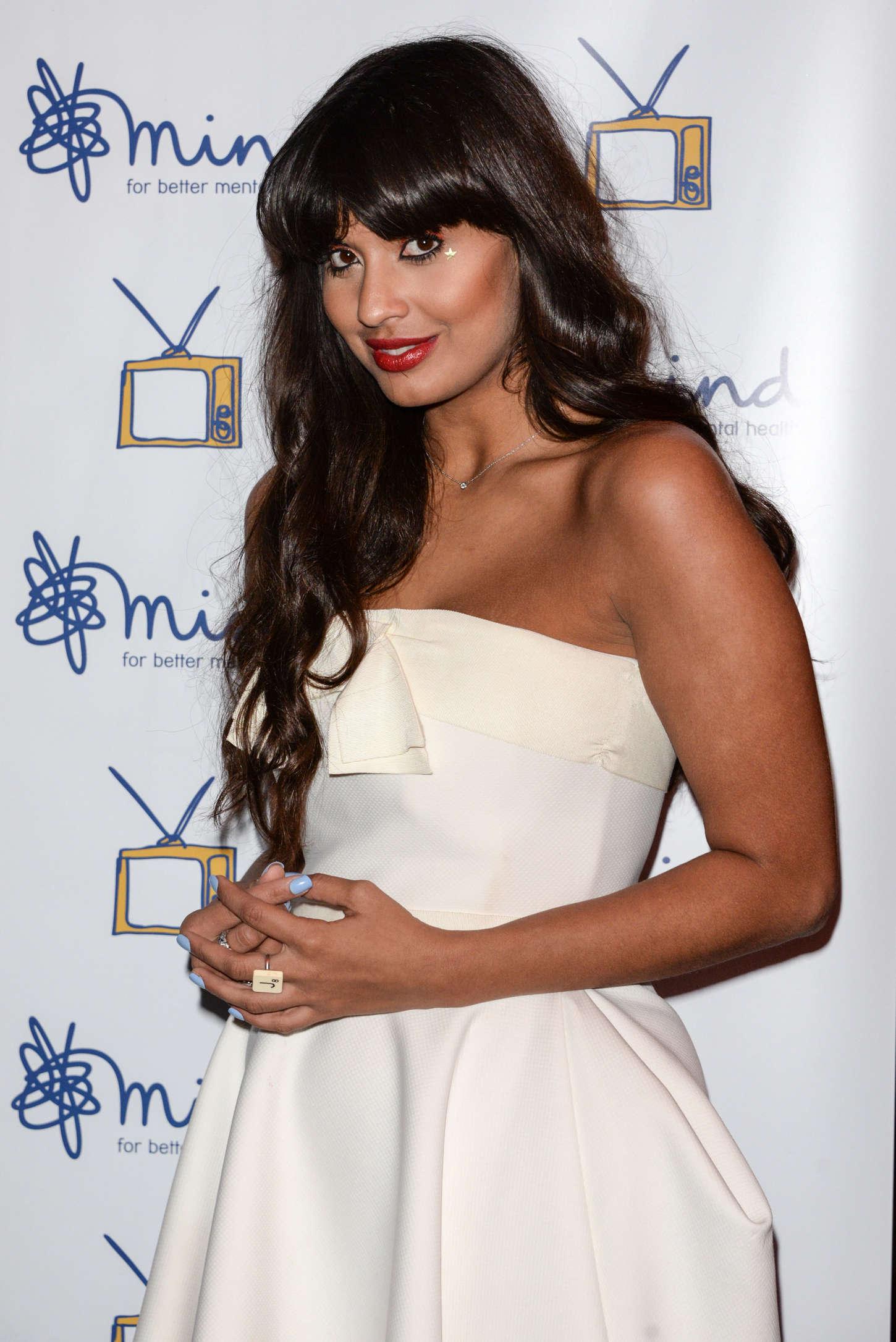 Jameela Jamil - Mind Media Awards 2014 in London