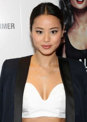Jamie Chung: Schutz Summer 2014 Collection Launch -07