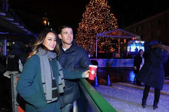 Jamie-Chung:-Annual-Tree-Lighting-Specta