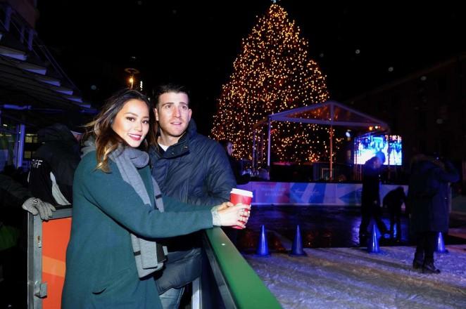Jamie-Chung:-Annual-Tree-Lighting-Specta