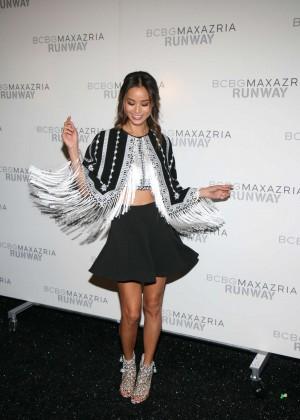 Jamie Chung - BCBGMAXAZRIA Fashion Show in NY