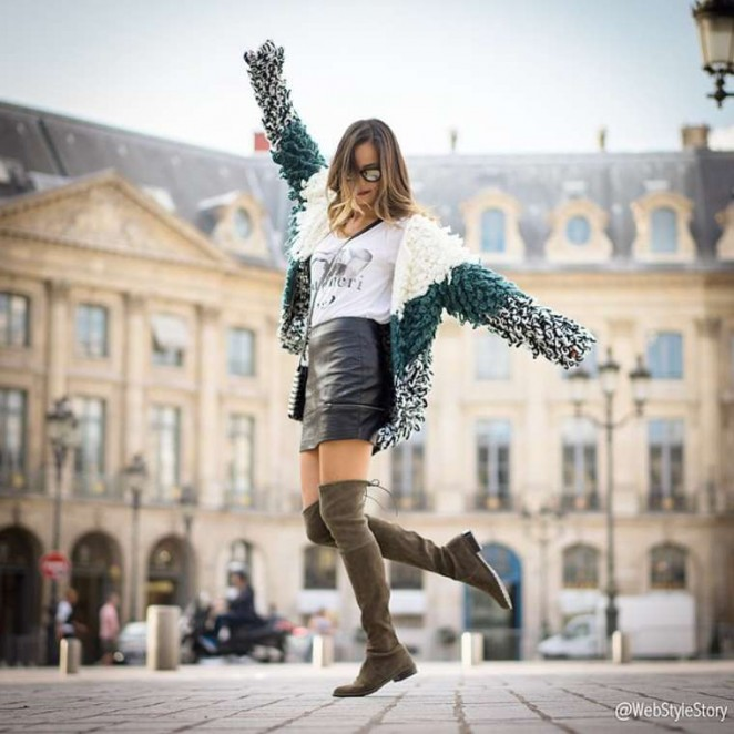 Jamie Chung by Francois-Xavier Watine Photoshoot in Paris