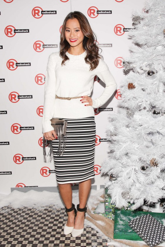 Jamie Chung – Charlotte Ronson Holiday Party at a Radioshack in NY