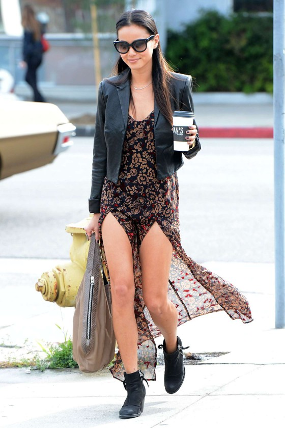 Jamie Chung - out and about in Los Angeles 01/09/13