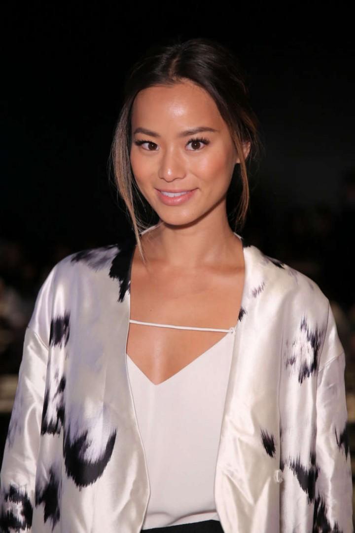 Jamie Chung - Lela Rose Spring 2015 Fashion Show in NYC