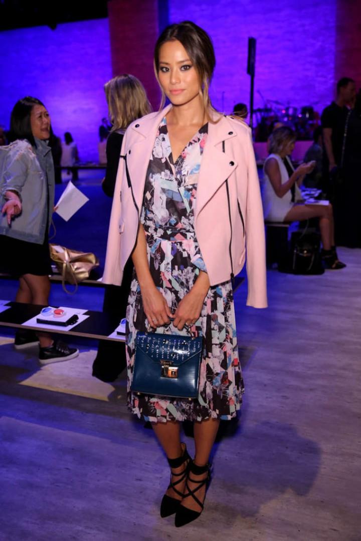 Jamie Chung - Rebecca Minkoff Spring 2015 Fashion Show in NYC