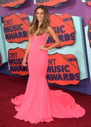 Jana Kramer: 2014 CMT Music Awards -01